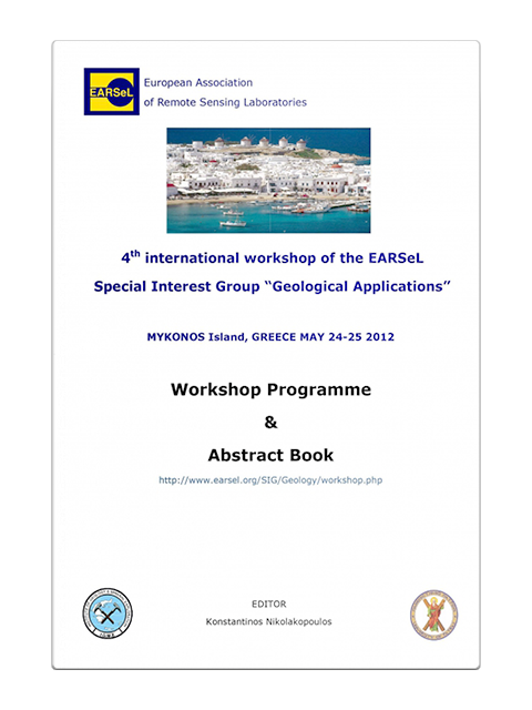 "4th International Workshop of the EARSeL Special Interest Group ""Geological Applications"""