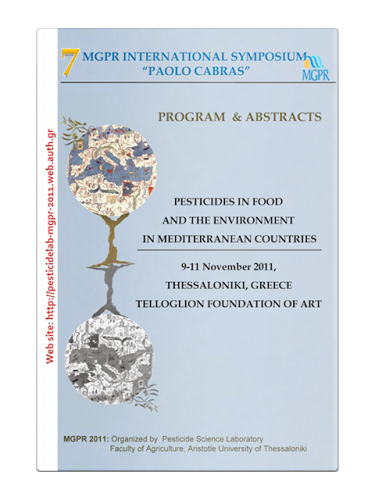 "7th MGPR International Symposium ""Paolo Cabras"". Pesticides in Food and the Environment in Mediterranean Countries"