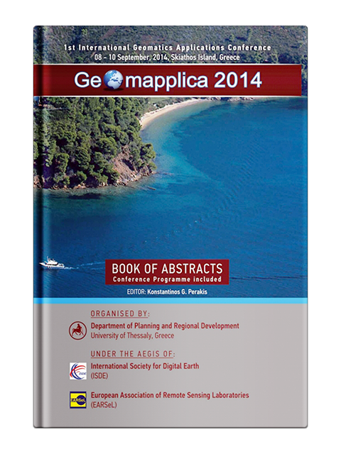 "Book of Abstracts of the 1st International Geomatics Applications ""GEOMAPPLICA"" Conference"