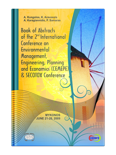 Book of Abstracts of the 2nd International Conference on Environmental Management, Engineering, Planning and Economics