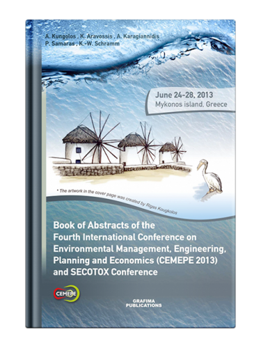 Book of Abstracts of the 4th International Conference on Environmental Management, Engineering, Planning and Economics CEMEPE 13 and SECOTOX Conference