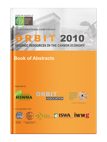 Book of Abstracts of the 7th International Conference ORBIT 2010 Organic Resources in the Carbon Economy