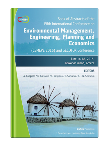 Book of Abstracts of the Fifth International Conference on Environmental Management, Engineering, Planning and Economics (CEMEPE 15) and SECOTOX Conference