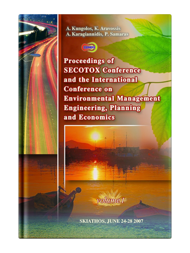 International Conference on Environmental Management, Engineering, Planning and Economics, Volume 1