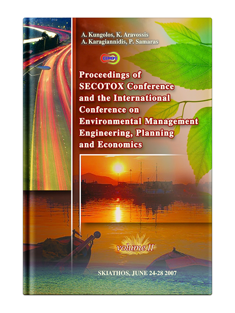 International Conference on Environmental Management, Engineering, Planning and Economics, Volume 2