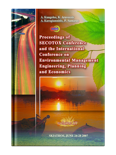 International Conference on Environmental Management, Engineering, Planning and Economics, Volume 3