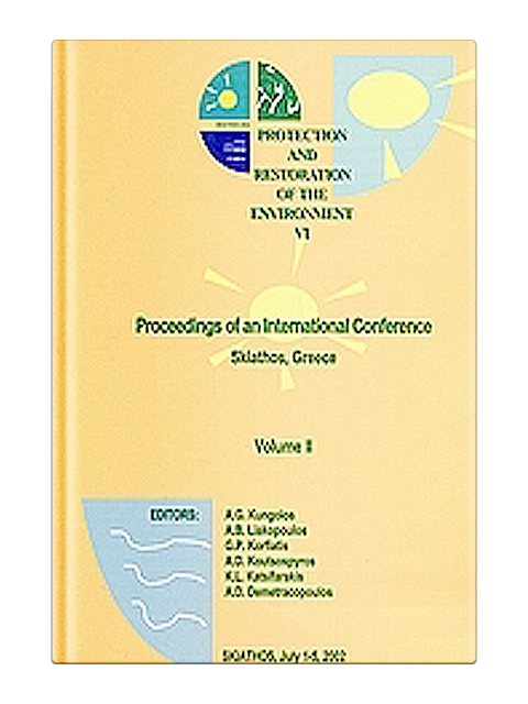 Protection and Restoration of the Environment IV - Volume 1