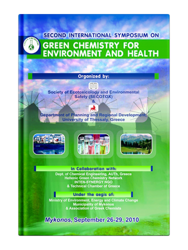 Second International Symposium on Green Chemistry for Environment and Health